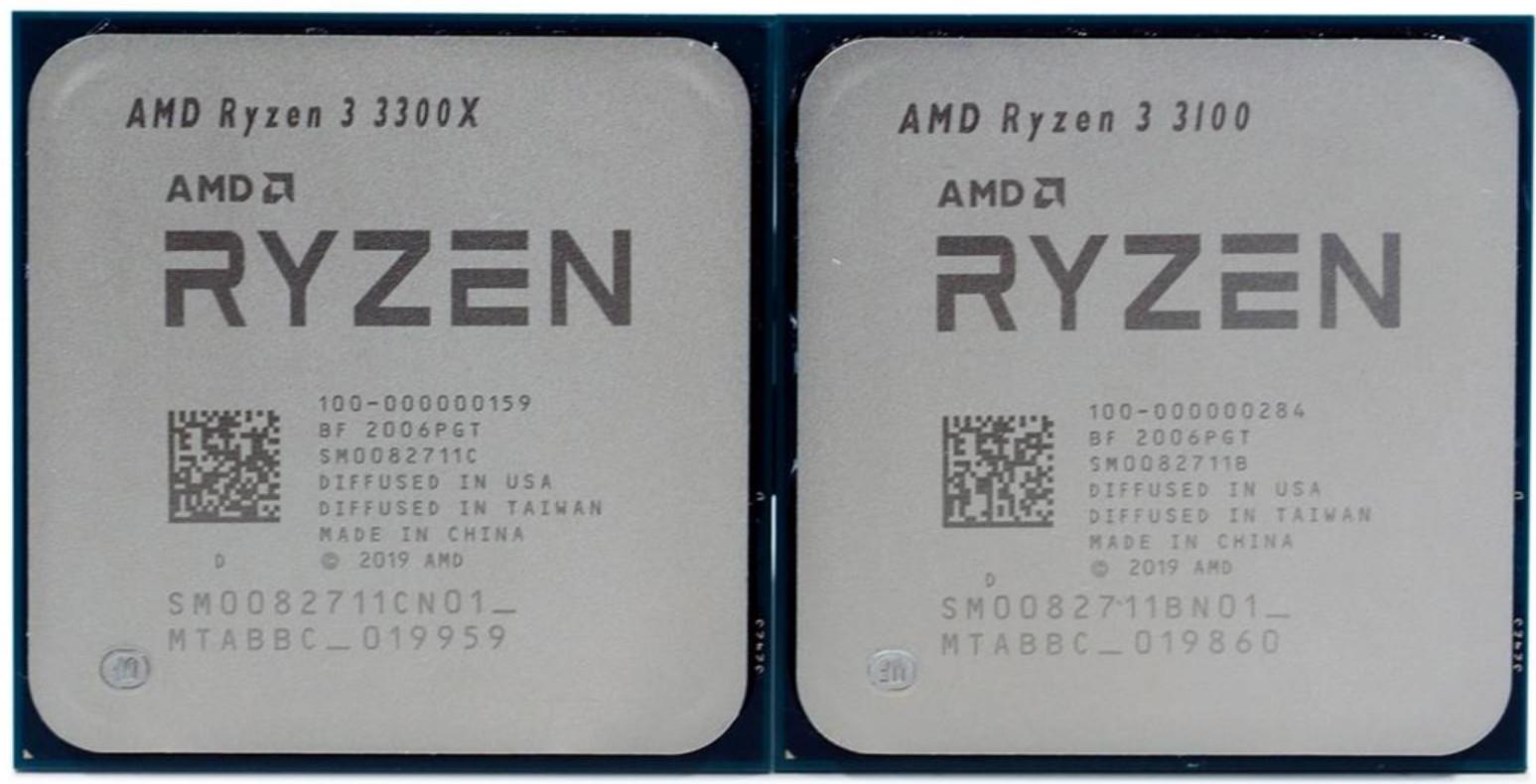 AMD Ryzen 3300X 3100