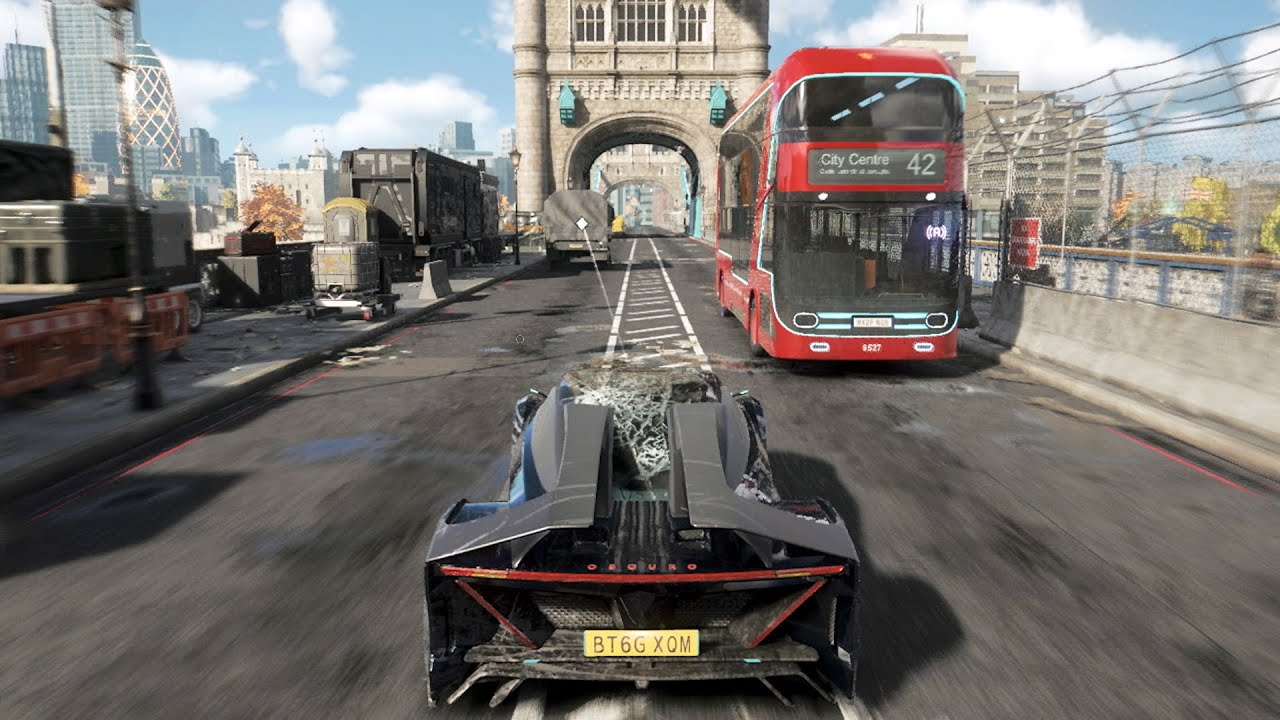 Watch Dog Legion Batmobile