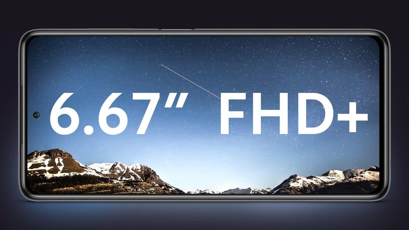 Xiaomi POCO X3 NFC y 6.67 120 FPS FHD+ Pantalla Screen
