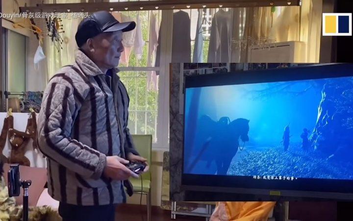 Foto de Abuelo gamer completa más de 300 videojuegos y es viral en China