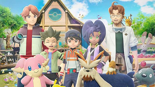 New Pokémon Snap characters