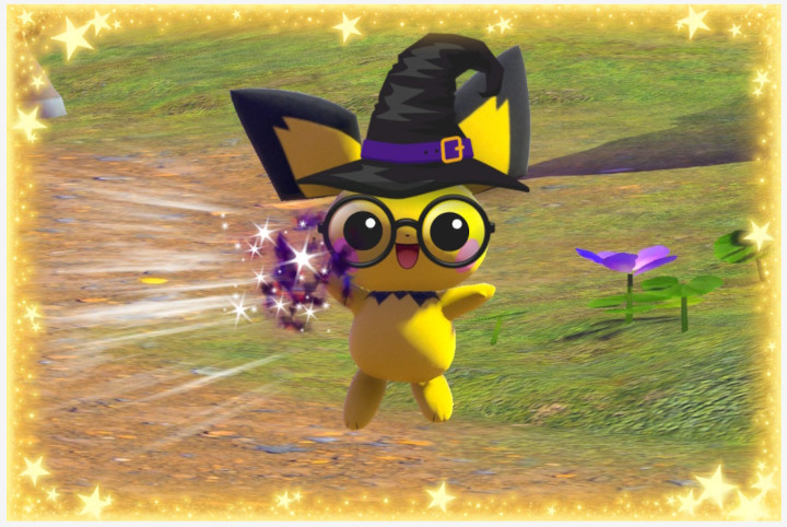 Pichu Snap Stickers Re-Snap