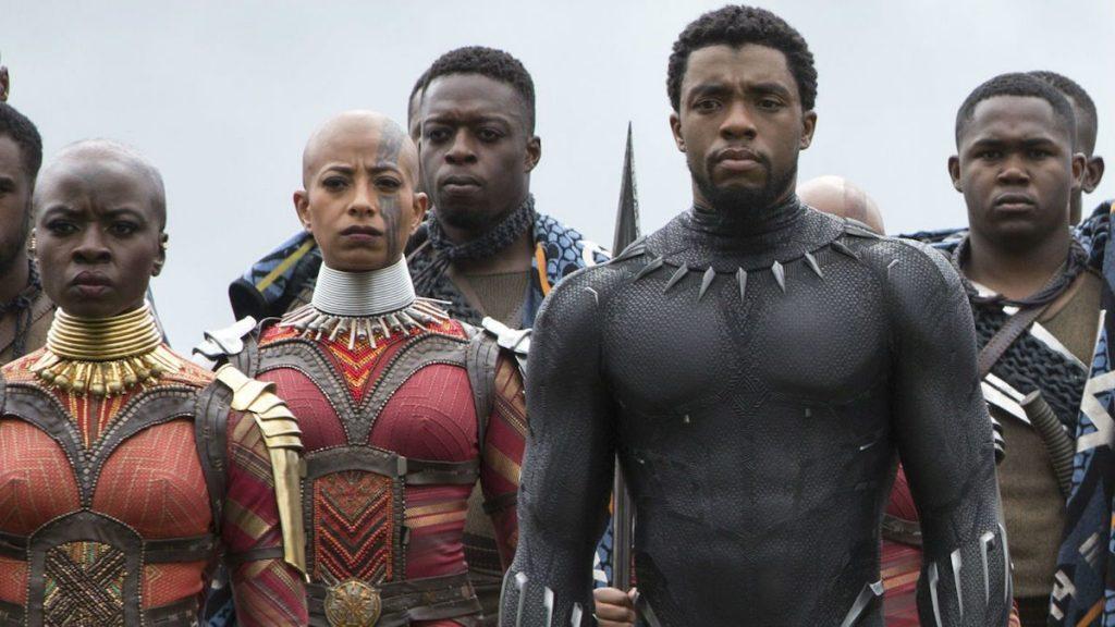 black panther chadwick boseman marvel studios disney okoye