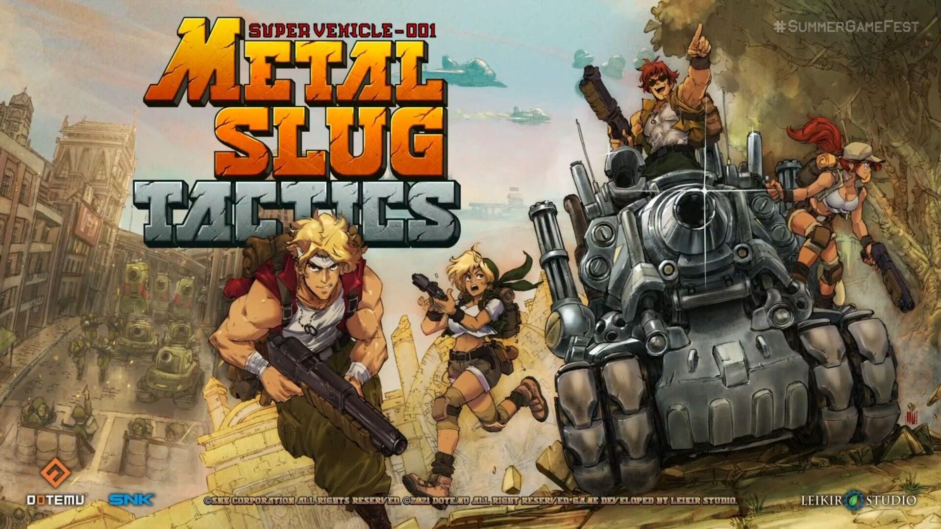 metal slug tactics snk steam