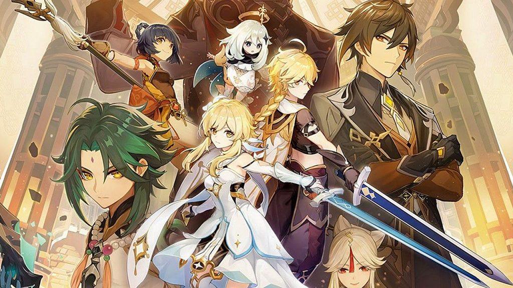 genshin impact mihoyo playstation 5 epic games store
