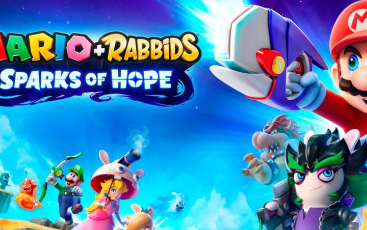 Foto de Mario + Rabbids Sparks of Hope llegará a Switch en el 2022