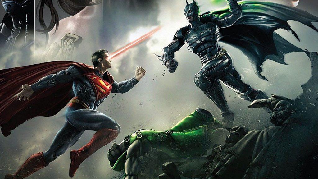 superman injustice gods among us batman
