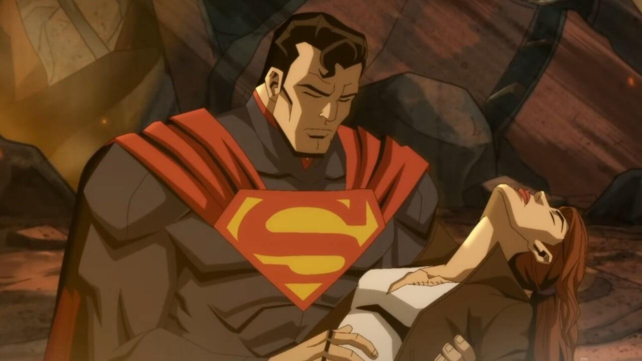Injustice Superman Muerte Lois Trailer