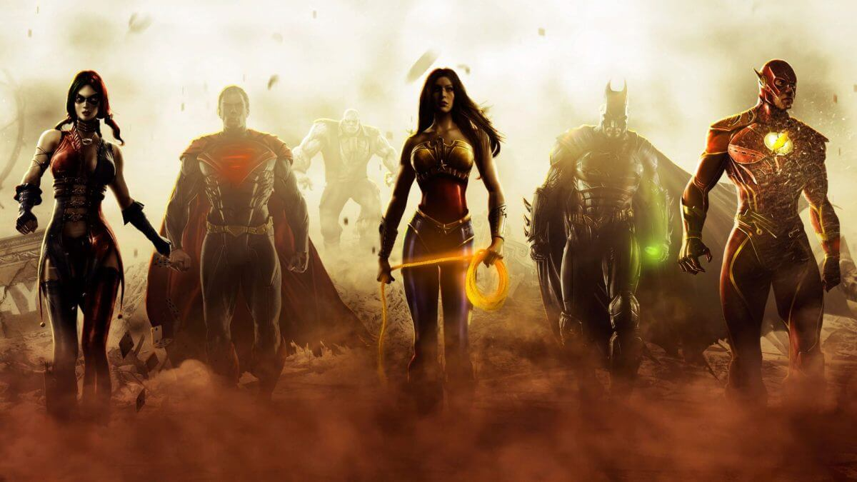 Injustice Videojuego Superheroes Gods Among Us