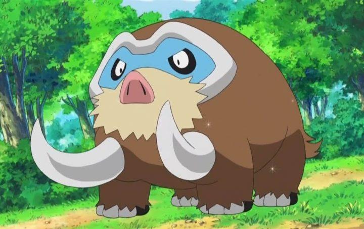 Foto de Pokémon Unite muestra a Mamoswine