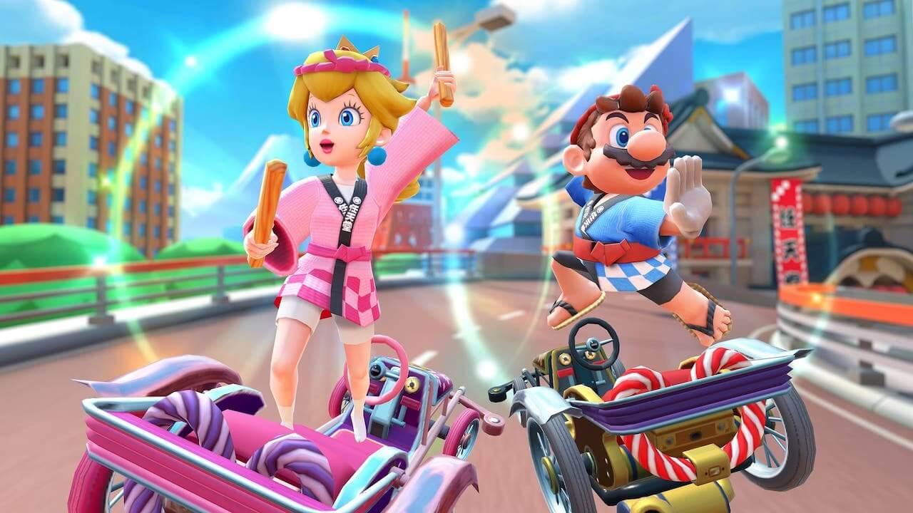 Mario Kart Tour Personajes Ropa Segundo Aniversario
