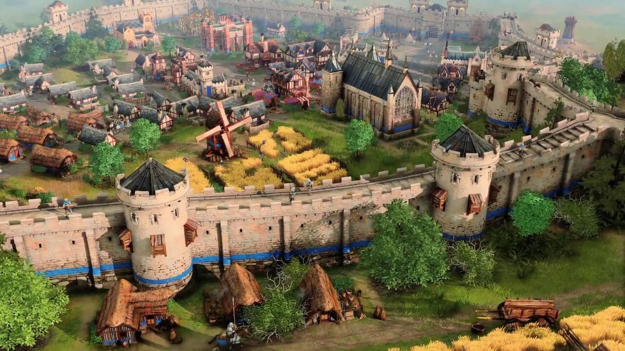 Age of Empires 4 Muralla