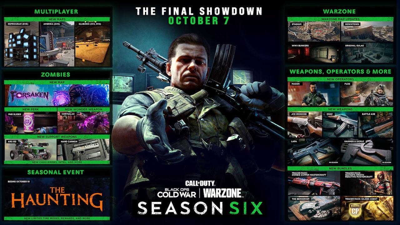 Call of Duty Temporada 6 Novedades