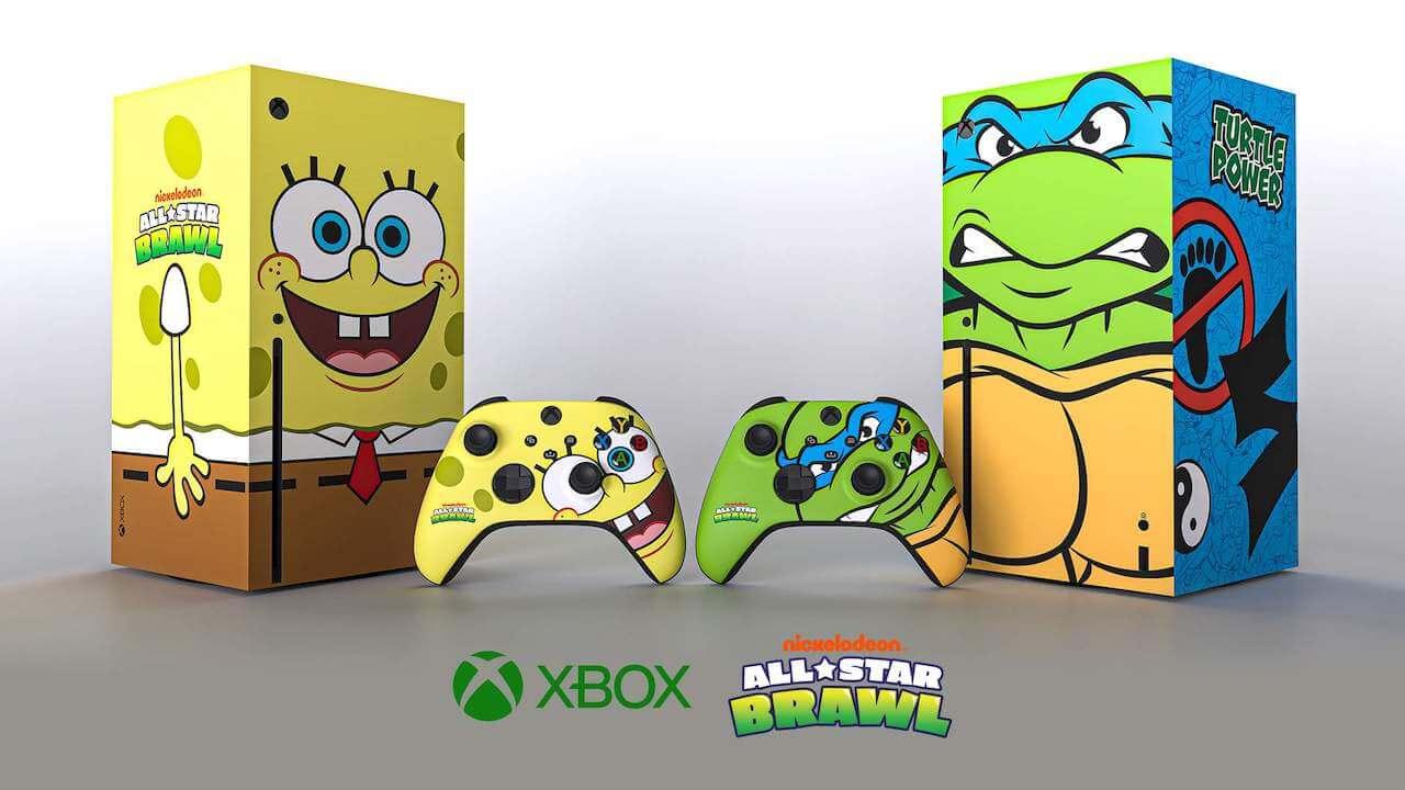 Xbox Diseño Bob Esponja Tortugas Ninja