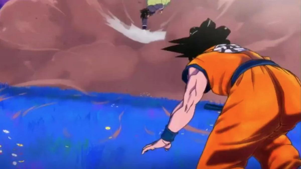 Dragon Ball Super Hero Trailer Broly Goku