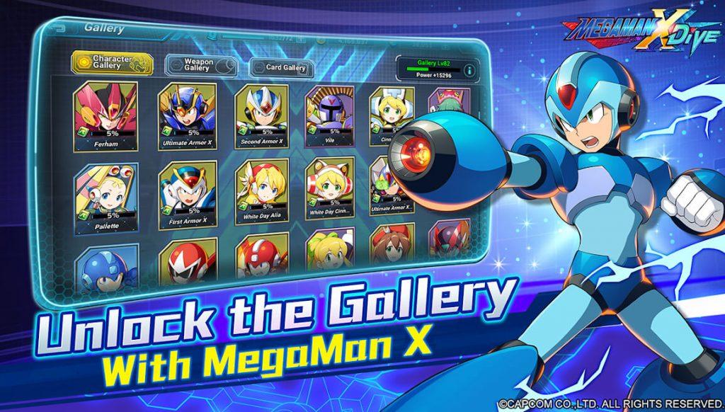 Mega Man X Dive Personajes Colección