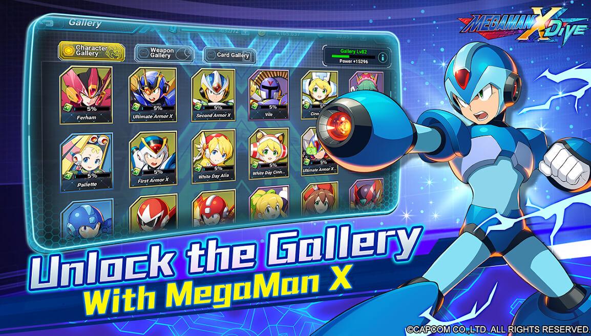 Megaman X Dive Colección Personajes