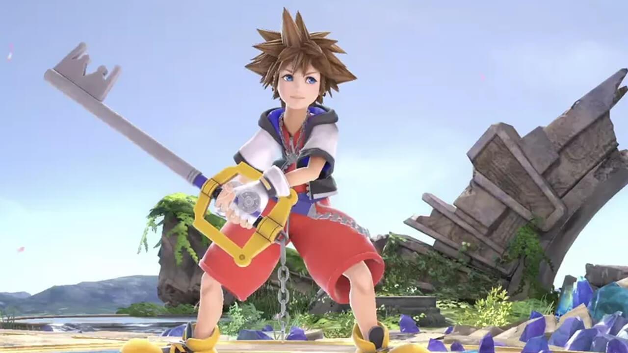 Sora Kingdom Hearts Smash Ultimate